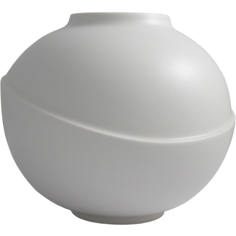 AEO Studio Big Bubble Vase - White Matte