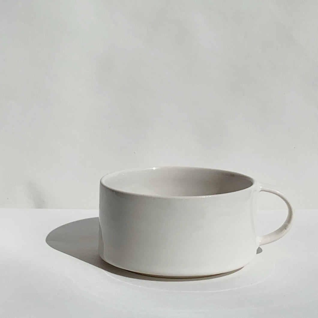Ceramic Cup with Handle by Alexandra Nilasdotter