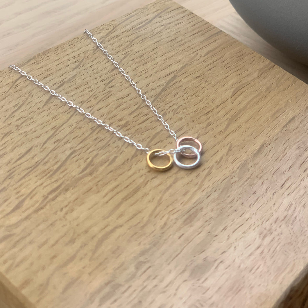 Tiny Circles Necklace by Rebecca Gladstone