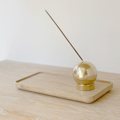 Large Brass Incense Holder