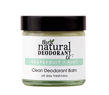 Clean Deodorant Balm - Grapefruit + Mint - The Method