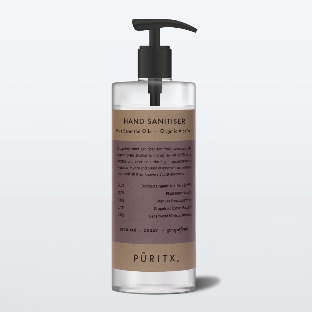 Puritx Hand Sanitiser Manuka Cedar Grapefruit 250ml