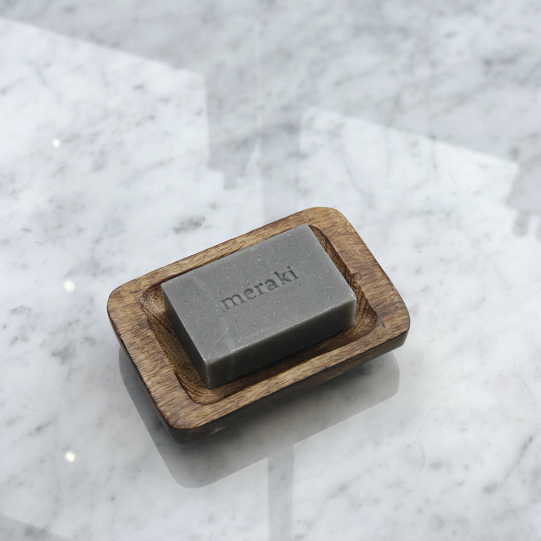 meraki bamboo charcoal soap bar - The Method
