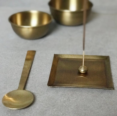 Brass Square Plate