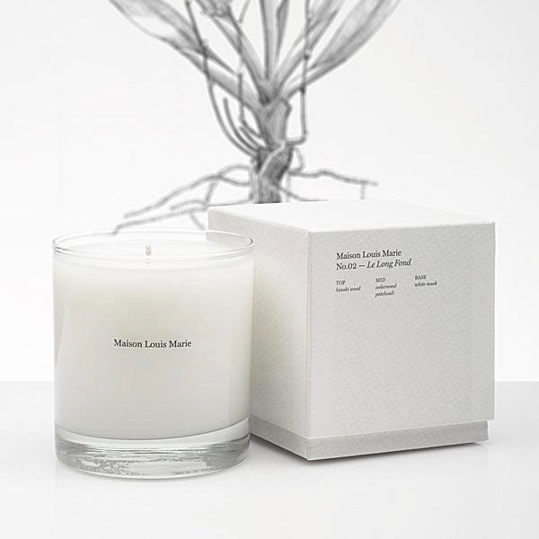 Maison Louis Marie Candle -No.02 Le Long Fond