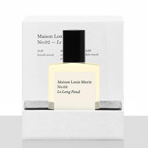 Maison Louis Marie -No.02  Le Long Fond - Perfume oil