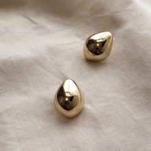 Lunis Dome Earrings - Gold