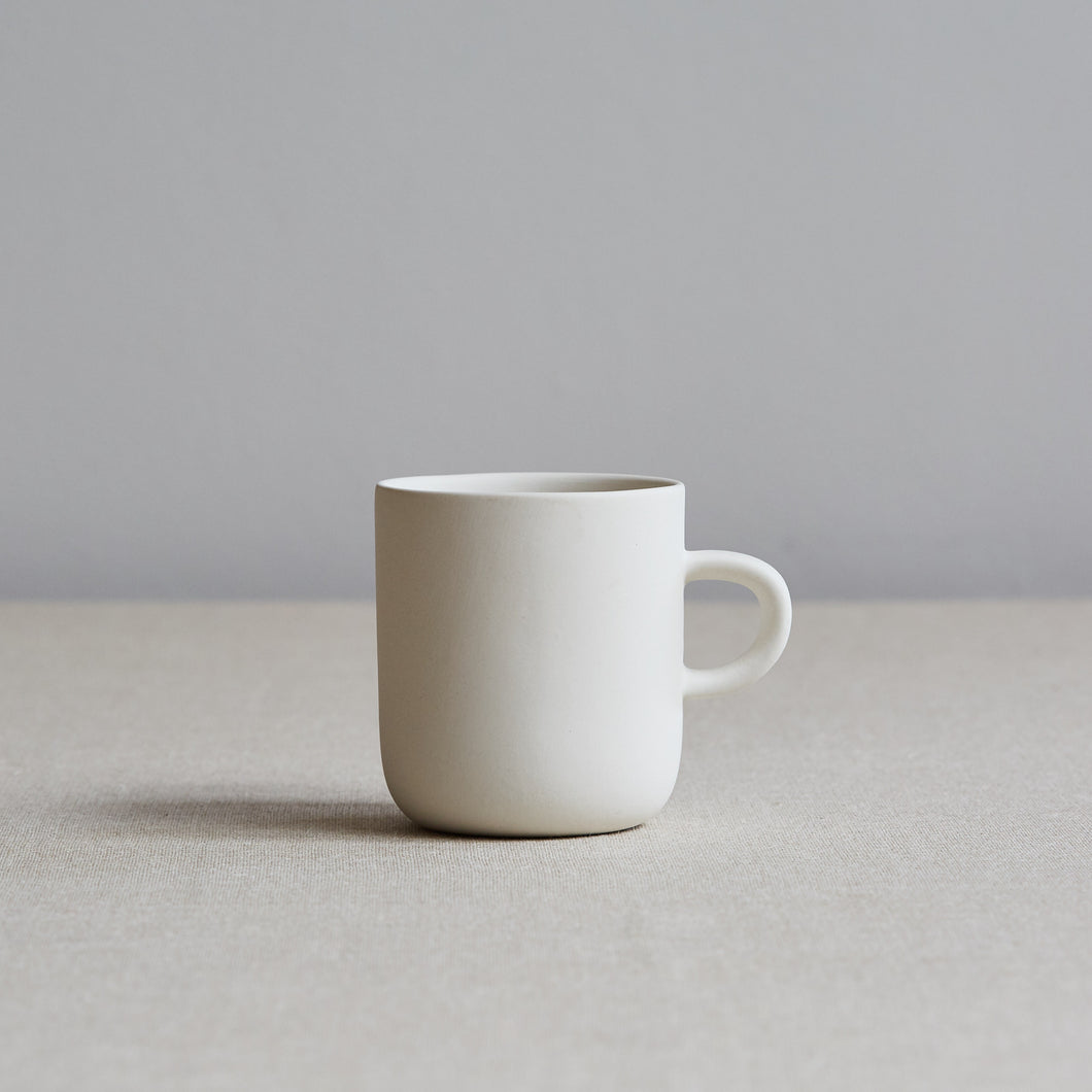 White Ceramic Coffee Cup