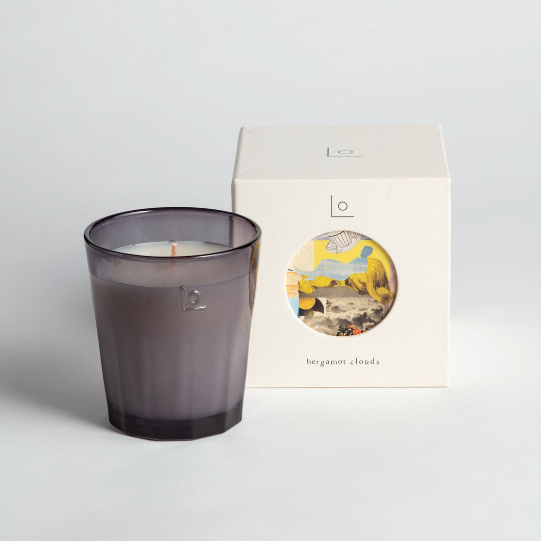 LO Studio - Bergamot Clouds - Scented Candle 220g