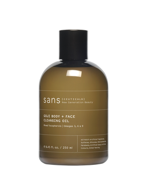 sans [cueticals] Goji Body + Face Cleansing Oil - The Method