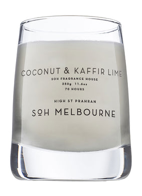 SOH Coconut + Kaffir Lime Scented Candle