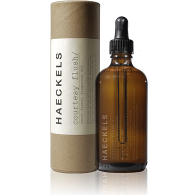 Haeckels Courtesy Flush - The Method