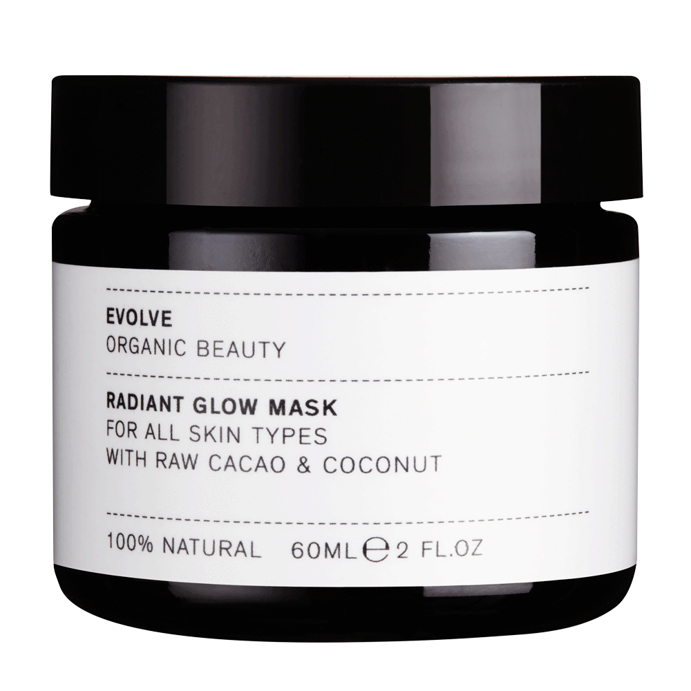 Evolve Radiant Glow Organic Face Mask