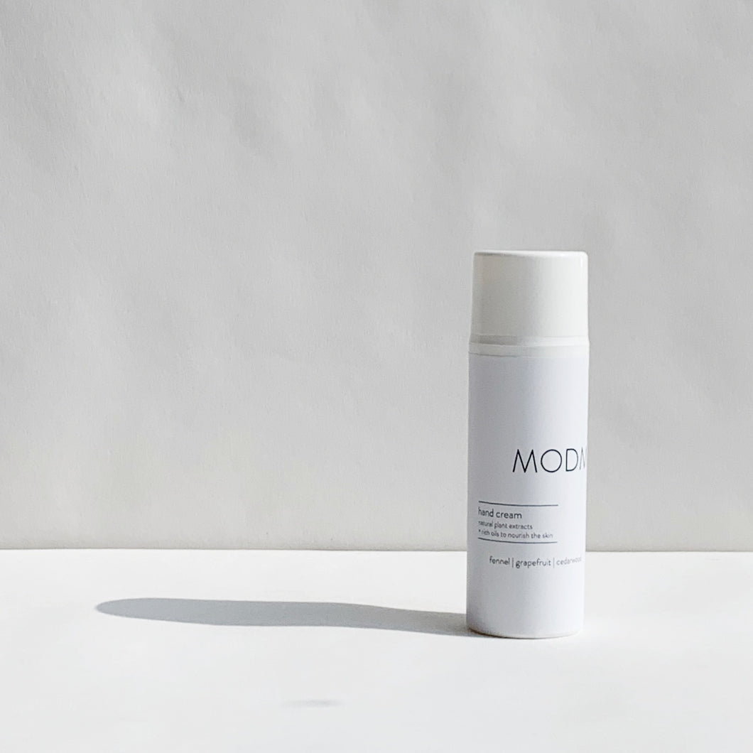 MODM  Hand Cream - fennel | grapefruit | cedarwood - 100ml