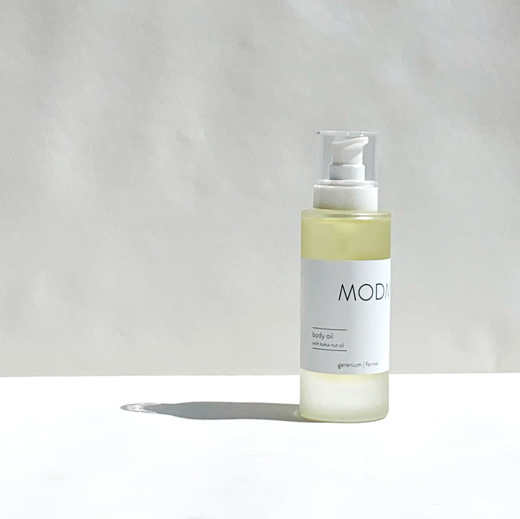 MODM Body Oil - Geranium + Fennel
