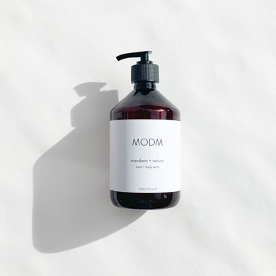 MODM Hand + Body Wash - Mandarin + Vetiver