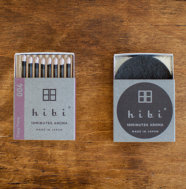 Hibi Incense Matches- Ylang Ylang
