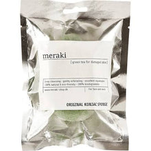 Green Tea Konjac Sponge - The Method