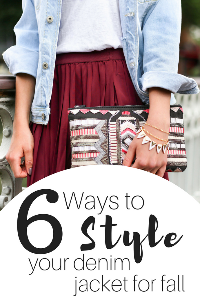 6 Ways To Style Your Denim Jacket For Fall