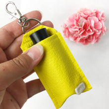 Yellow Lip Chap Cozy Keychain