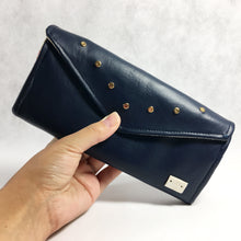 Shelbie Wallet - Navy Vegan Leather