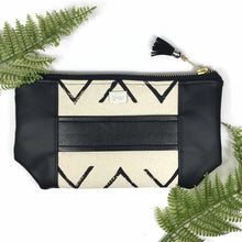 Mia Clutch - Chevron Print
