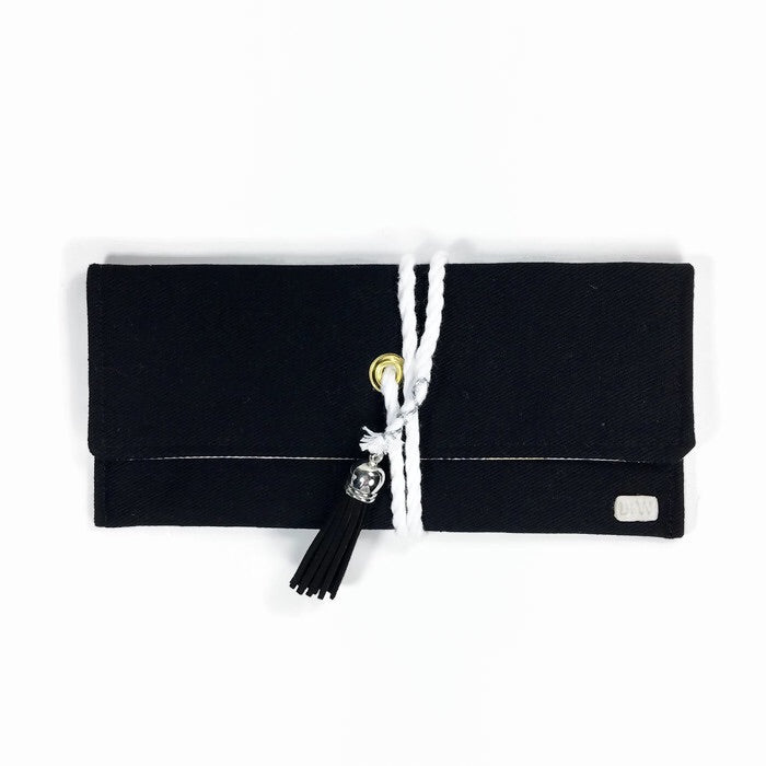 Sunglasses Soft Wrap Case - Black