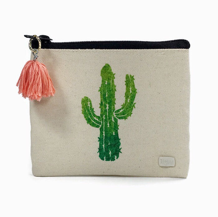 Mini Cactus Carryall Pouch