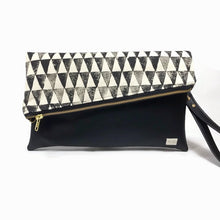Gigi Fold Over Clutch - Exclusive Hand Painted Prints