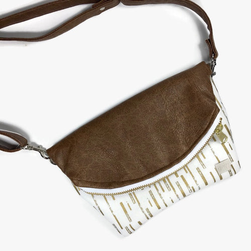 Lulu fanny pack - Gold Stripe