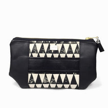 Mia Clutch - Triangle Print