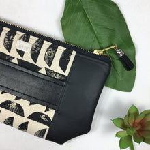 Mia Clutch - Half Circle Tribal Print