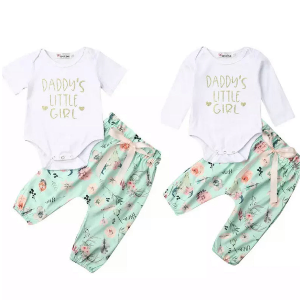 Daddy's Girl Floral Set