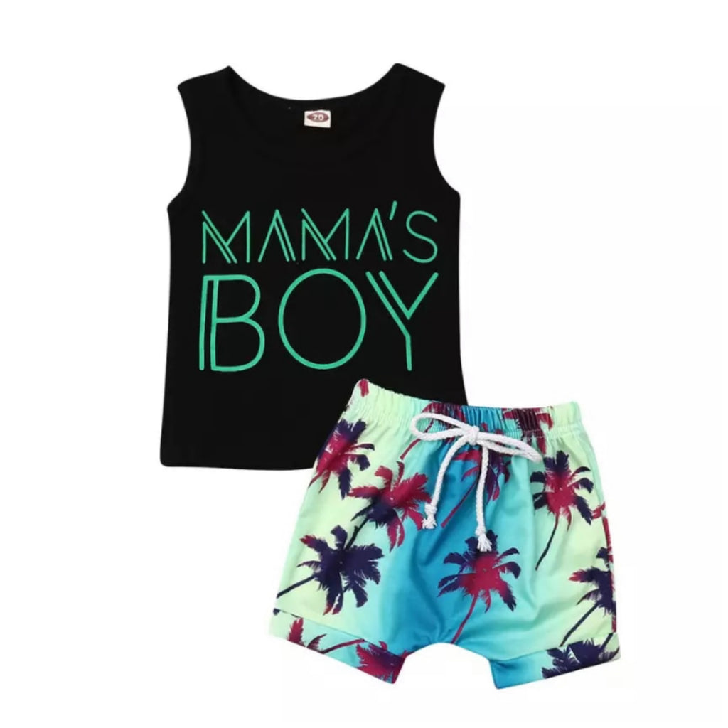 Mama's Boy Beach Set