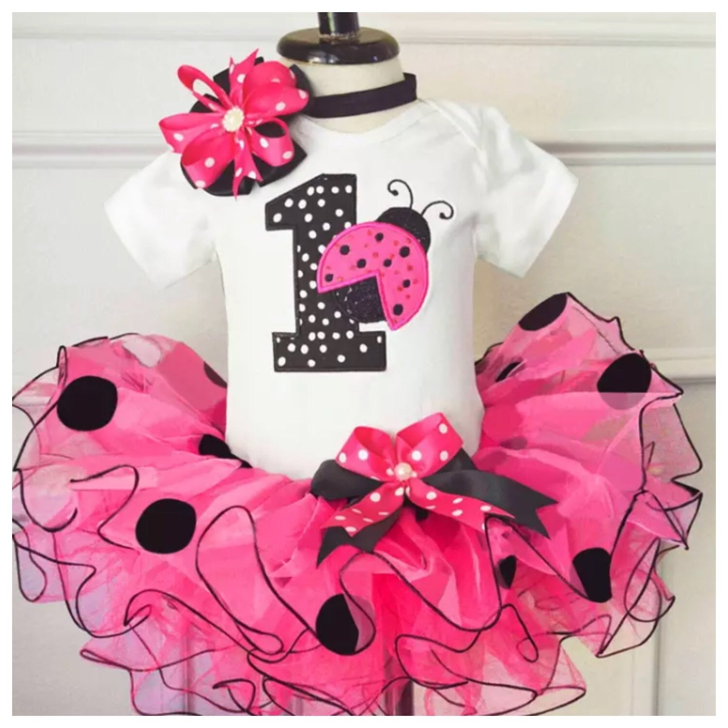 Girls-Lady-Bug-Birthday-Outfit-Pink