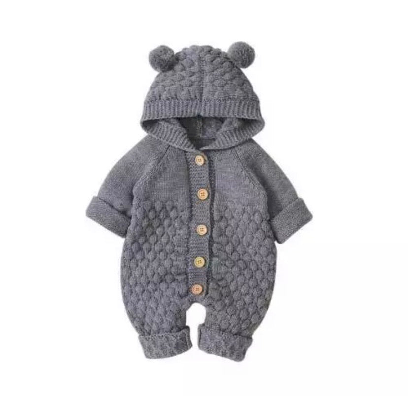 Grey-Winter-Outfits-Bear-Knit-Onesie
