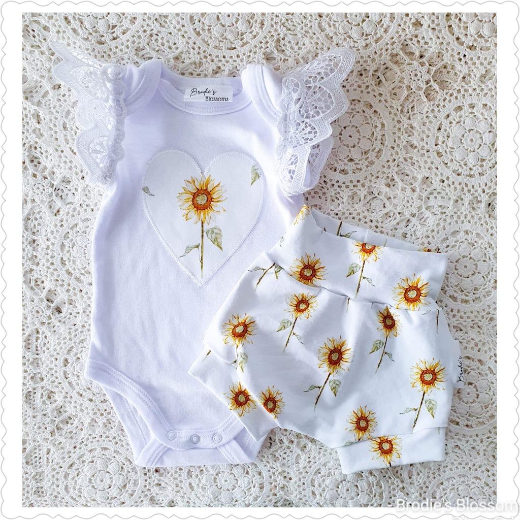 Handmade Sunflower Set