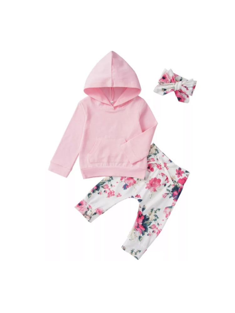 Becca Floral Tracksuit