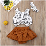 Polka Dot Crop Set