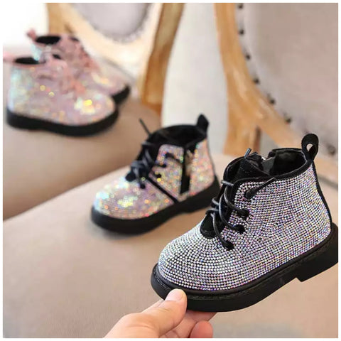 Girls Sparkle Boots