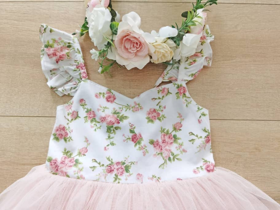 Lucy-Girls-Dress-Pink-Floral