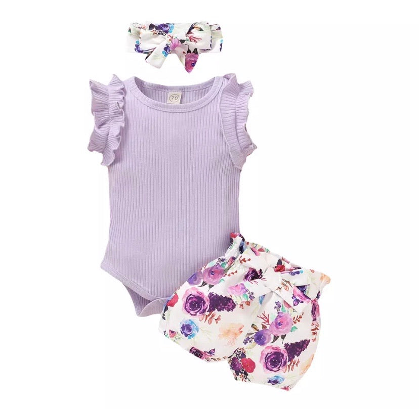 Kids-Summer-Clothes-Kirby-Purple-Set