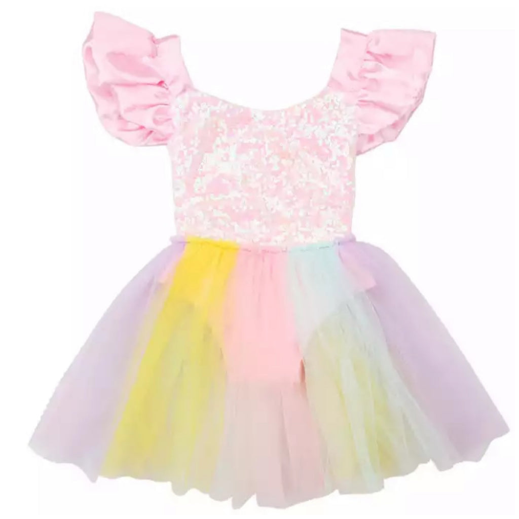 Rainbow Sparkle Dress