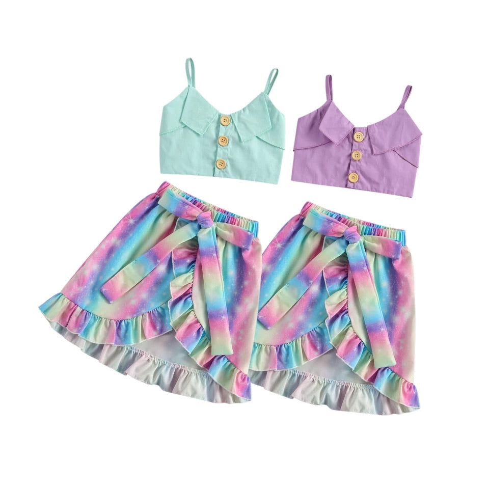 Mermaid Skirt Set