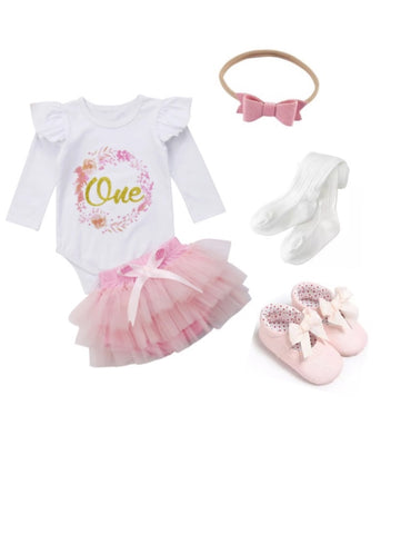 One Pink Birthday Bundle