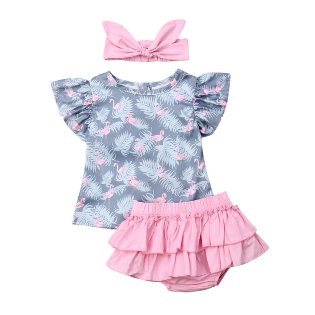 Flamingo 3 Piece Set
