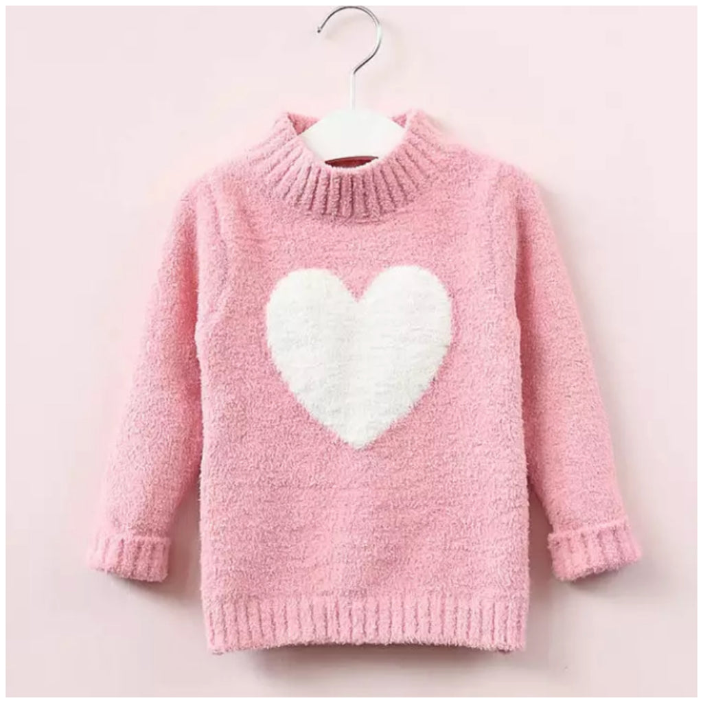 Heart Jumper-Pink