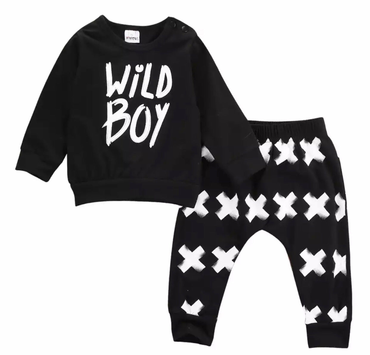 Monochrome Wild Boy Set