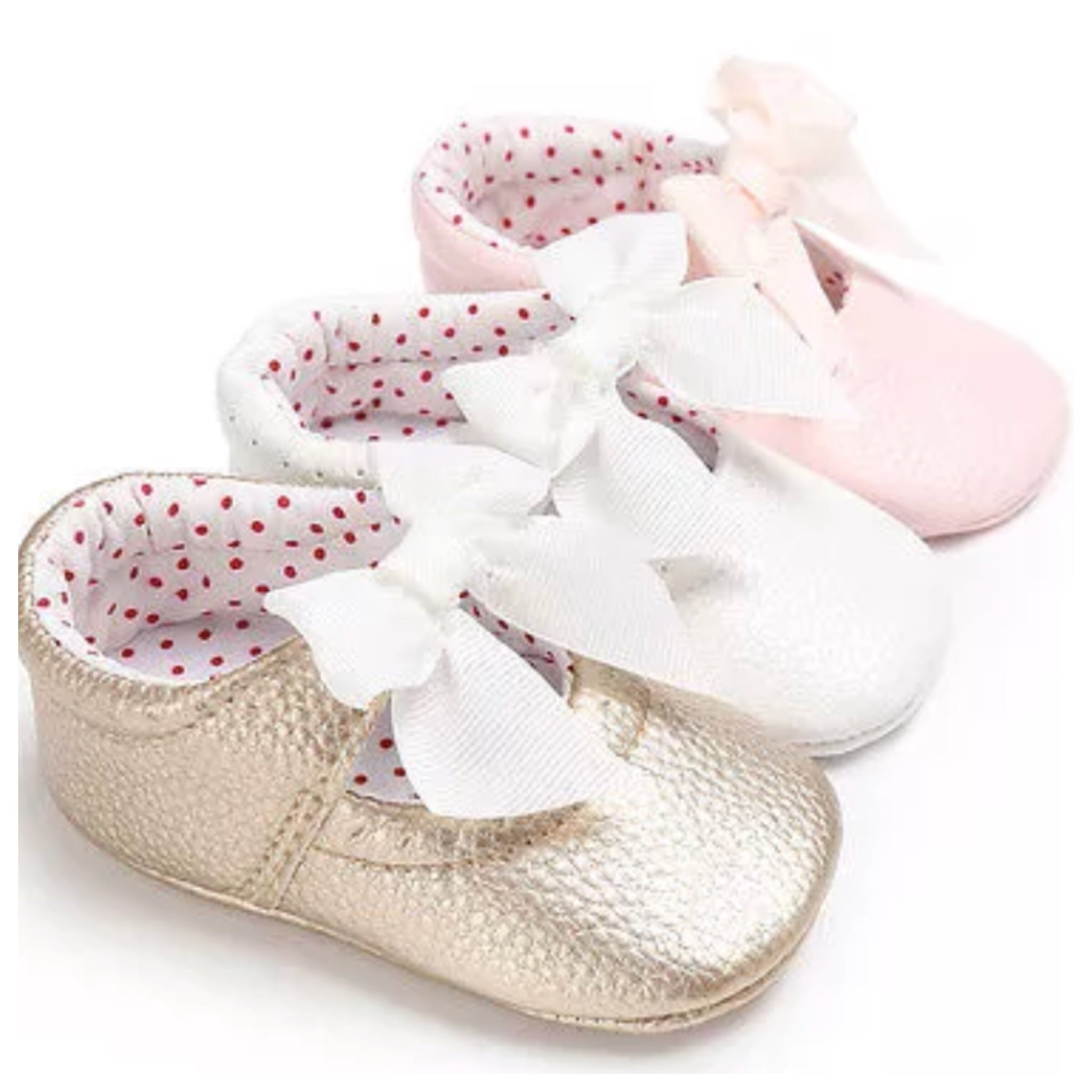Baby Bow Shoes – Winter Rosie Boutique