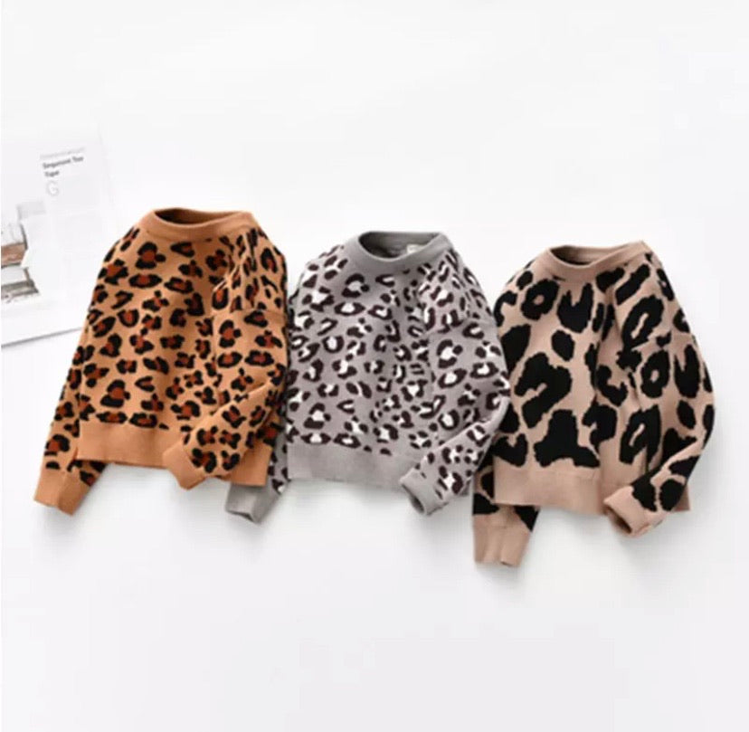 Leopard Love Jumper
